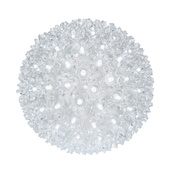 "6"" Twinkle Starlight Sphere, 50 Cool White LED Lights"