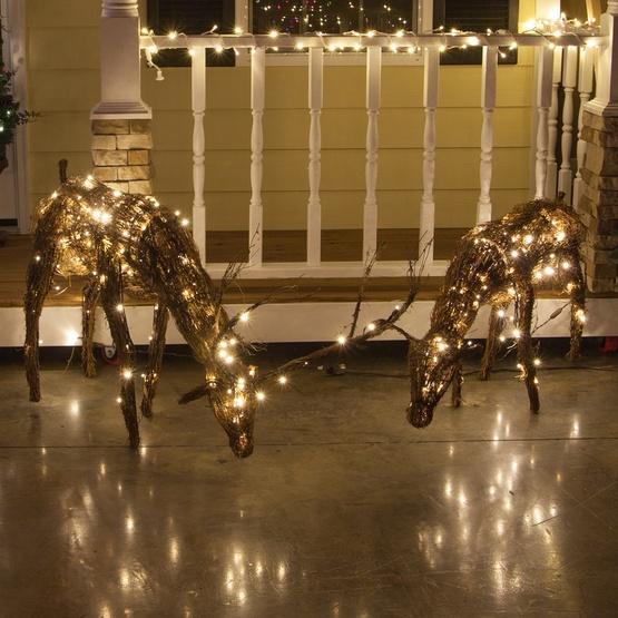 Christmas Lighted Deer Outdoor