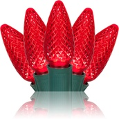 C9 Red Commercial LED Christmas Lights