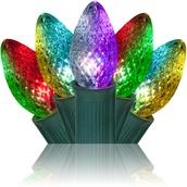C7 Multicolor Color Change Commercial LED Christmas Lights