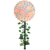 "7.5"" Starlight Sphere on a stake, 100 Multicolor Lights"