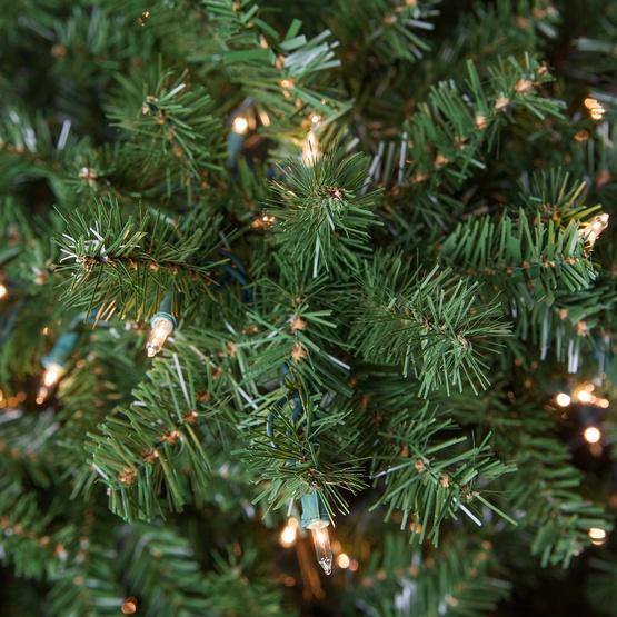 Brilliant Douglas Fir Prelit Tree Christmas Lights Etc Easy Diy Christmas Decorations Tissureus