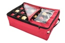 Double Tray Ornament Storage Box
