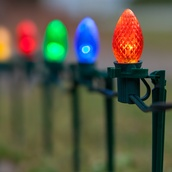 C7 Multicolor Christmas LED Pathway Lights