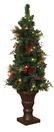 4' Battery Operated Prelit Potted Tree with LED Clear Lights