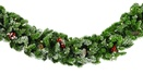 Hawthorne Prelit Christmas Garland, Clear Lights
