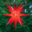 "14"" Red Moravian Star"