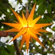 "14"" Gold/Yellow Moravian Star"