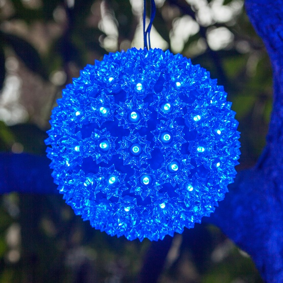 "10"" Mega Starlight Sphere, 150 Blue LED Lights"