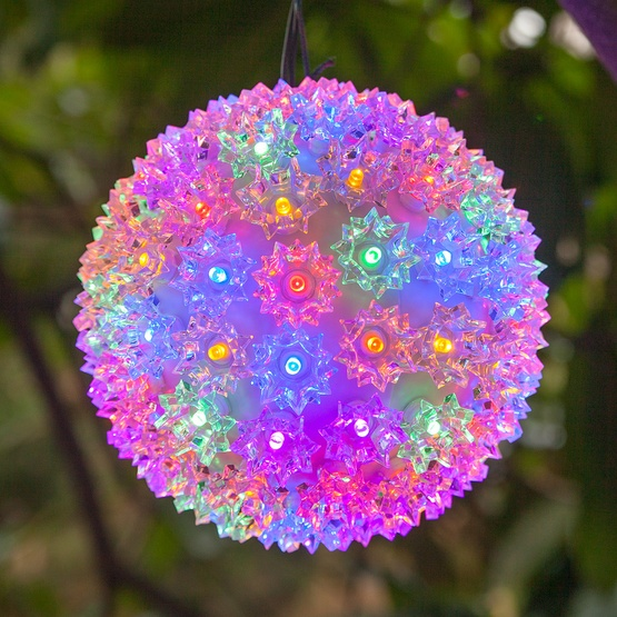 Multicolor LED Starlight Sphere