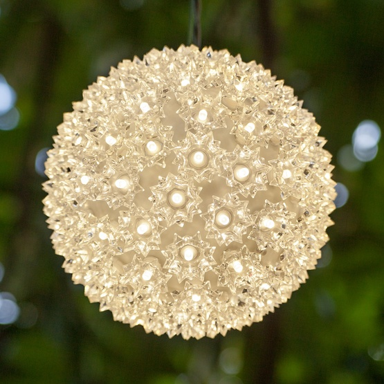 Warm White LED Starlight Sphere