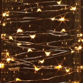 10' Warm White LED Fairy Light String