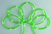 15' Battery Power Green Mesh Rope LED Fairy Lights