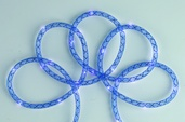 15' Battery Power Blue Mesh Rope LED Fairy Lights