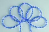 15' Battery Power Blue Mesh Rope LED Fairy Lights