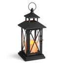 "11"" Criss Cross Candle Lantern"