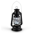 "11"" Black Hurricane Lantern"