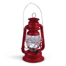 "11"" LED Red Hurricane Lantern"
