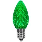 C7 Green OptiCore LED Christmas Light Bulbs