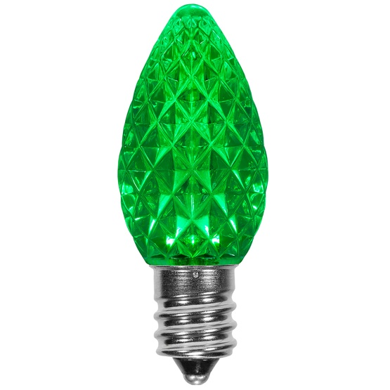 C green opticore led christmas light bulbs