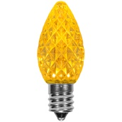 C7 Gold OptiCore LED Christmas Light Bulbs