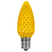 C9 Gold OptiCore LED Christmas Light Bulbs