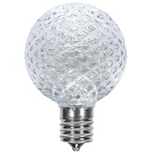 G50 Cool White LED Globe Light Bulbs