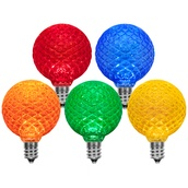 G50 Multicolor LED Globe Light Bulbs
