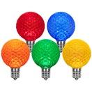 G50 Multicolor OptiCore LED Globe Light Bulbs
