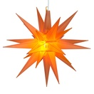 "14"" Amber LED Moravian Star"