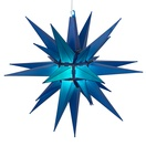 "14"" Blue LED Moravian Star"