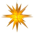 "14"" Gold LED Moravian Star"