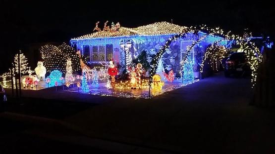 Christmas Light Spheres