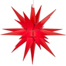 "14"" Red LED Moravian Star"