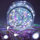 10' Cool White LED Fairy Light String