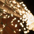 150 Clear Icicle Lights - Green Wire