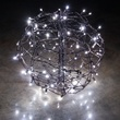 Cool White LED Hanging Light Sphere