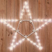 "32"" LED Warm White Folding Star"
