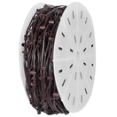"500' C7 Commercial Light Spool, SPT1 Brown Wire, 12"" Spacing"