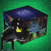 Green X500 Laser Christmas Light Projector