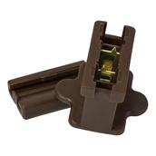 Brown Inline Zip Plug SPT1, Brown