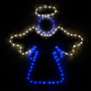 "20"" LED Blue and White Angel"