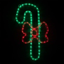 "20"" LED Candy Cane with a Bow"