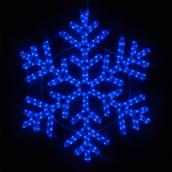 """24"""" LED Blue Snowflake"""