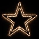 "24"" LED Warm White Star"