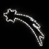 "24"" LED Cool White Shooting Star Motif"