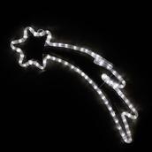 """24"""" LED Cool White Shooting Star Motif"""
