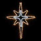 "28"" LED Warm White and Cool White Bethlehem Star"