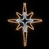"28"" LED Warm White and Cool White Bethlehem Star"