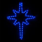 "18"" LED Blue Bethlehem Star"